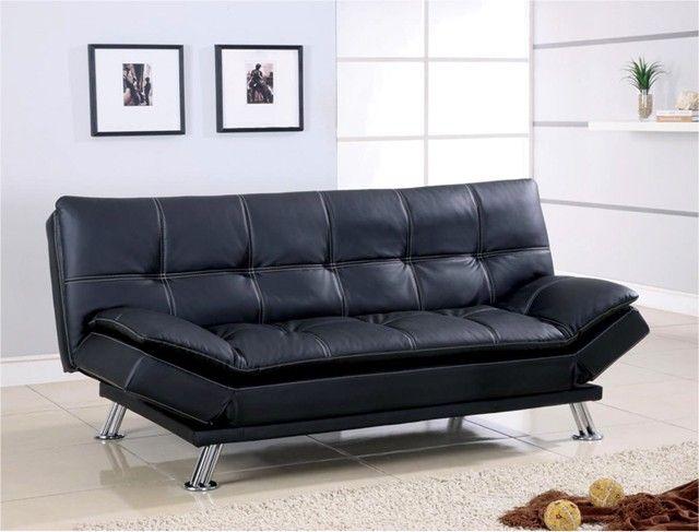 Leather Futon Sofa