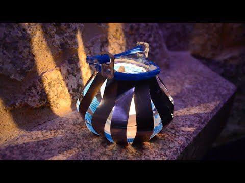 Cómo Construir Candelabros Con Latas De Refresco (Tutorial) - YouTube