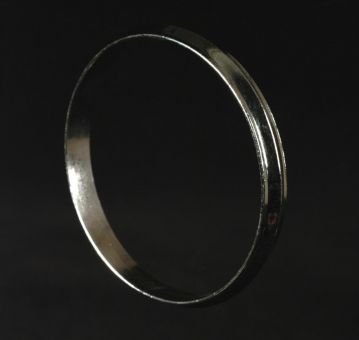 a kara or steel bangle from the golden temple in amritsar  a kara or steel bangle from the golden temple in amritsar