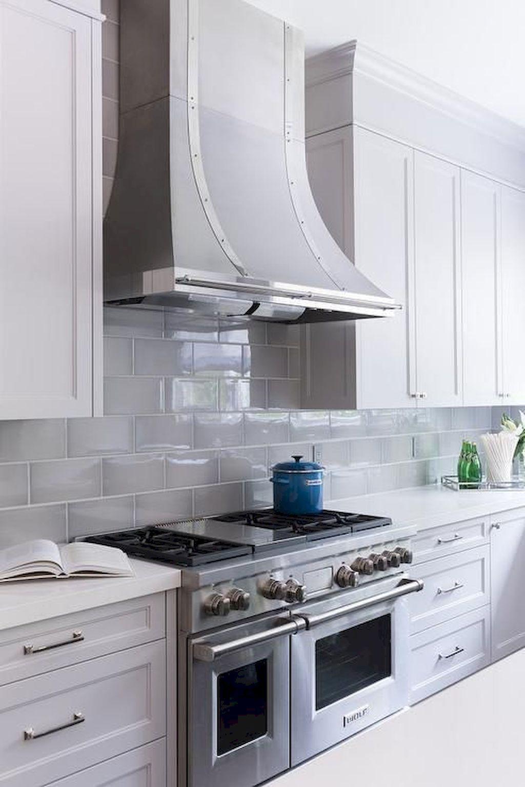 Stunning Kitchen Backsplash Ideas For Neutral Color Kitchen