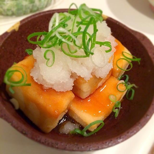 これメチャ美味しい(o^^o) ハマりそう♪ - 73件のもぐもぐ - 揚げ出し高野豆腐♡ by kirarihaha