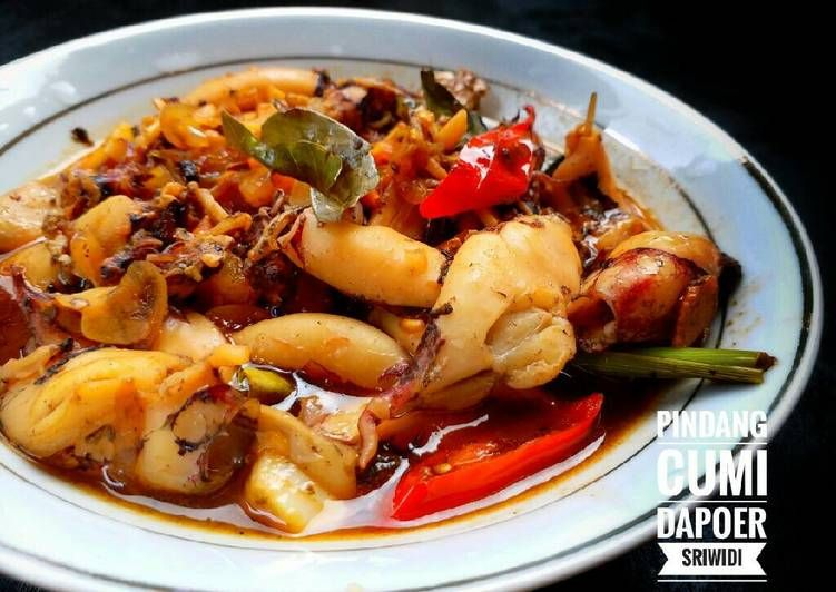Resep Pindang Cumi Oleh Dapoer Sriwidi Resep Resep Masakan Asia Resep Makanan Masakan