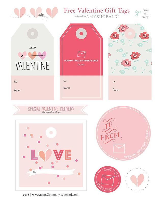 Wild image intended for free printable valentine tags