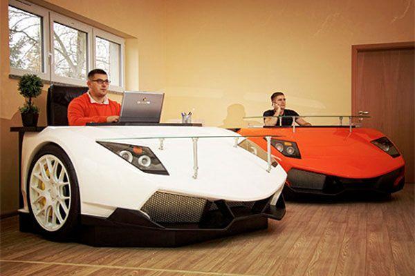 Lamborghini murcielago luxury desk tech geeky things in
