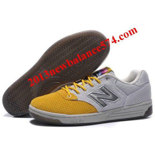 New Balance A21DA Lightgrey Yellow Shoes,Half Off New Balance Shoes 2013  Cheap