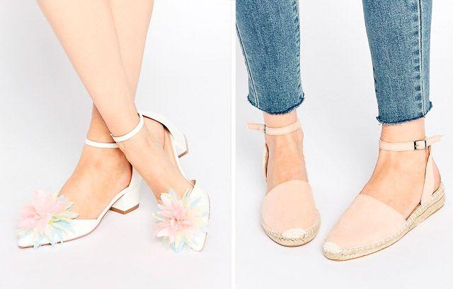 Zapatos de novia low cost