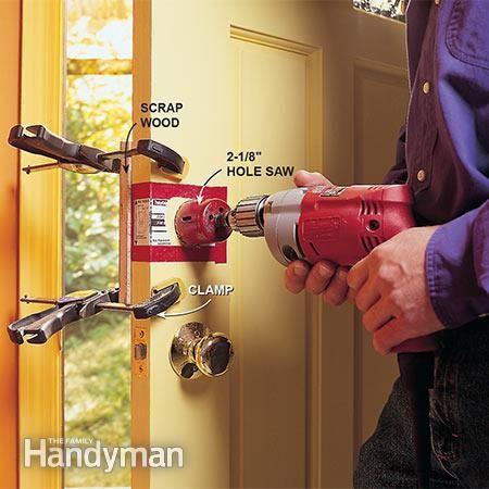 How To Install A Deadbolt Lock Diy Home Repair