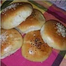 اطباق رمضانية لام وليد 2020 خبز قطني محشي بالجبن Hamburger Bun Food Bread