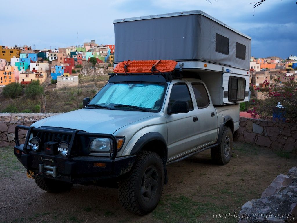 Four wheel pop up truck campers tacoma with eagle model down in south