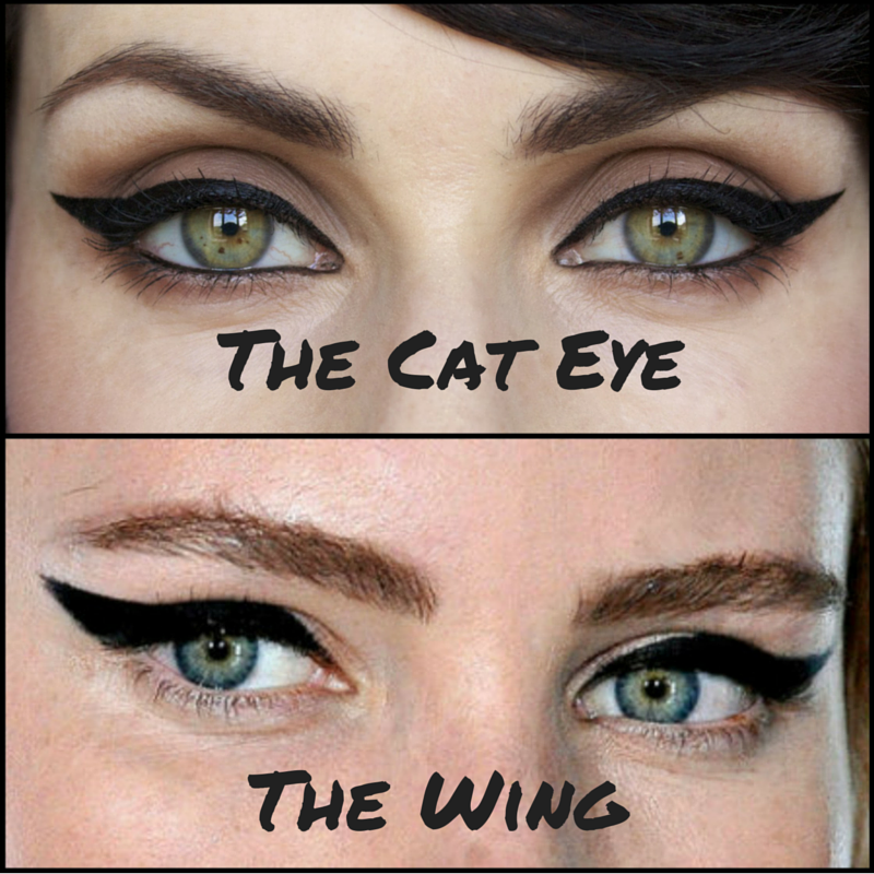 The Cat Eye vs The Winged Eye Cat eyeliner, Eyeliner