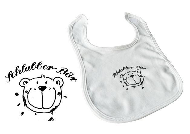 Lätzchen Schlabberbär Bär Lätzchen Bär Praktische