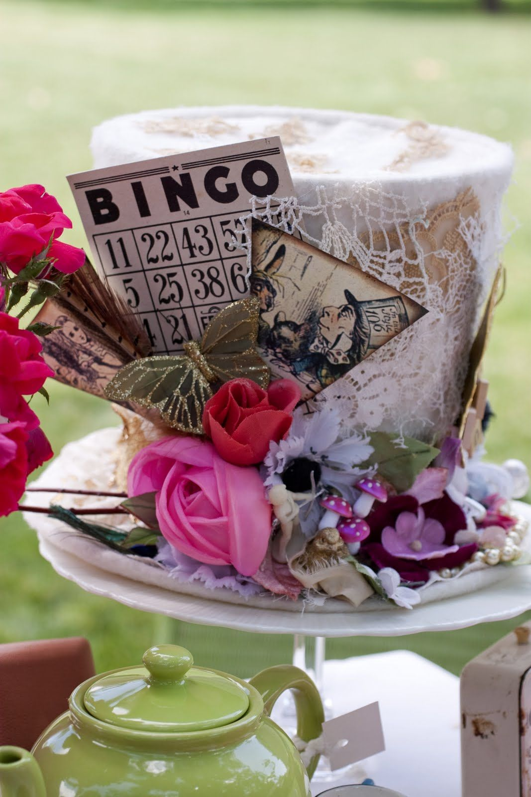 Amazing Mad Hatter Table Decor Tablescapes Table Settings Mad Download Free Architecture Designs Rallybritishbridgeorg