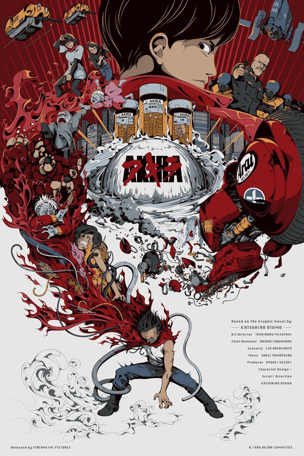 Akira (1988) HD Wallpaper From Movie