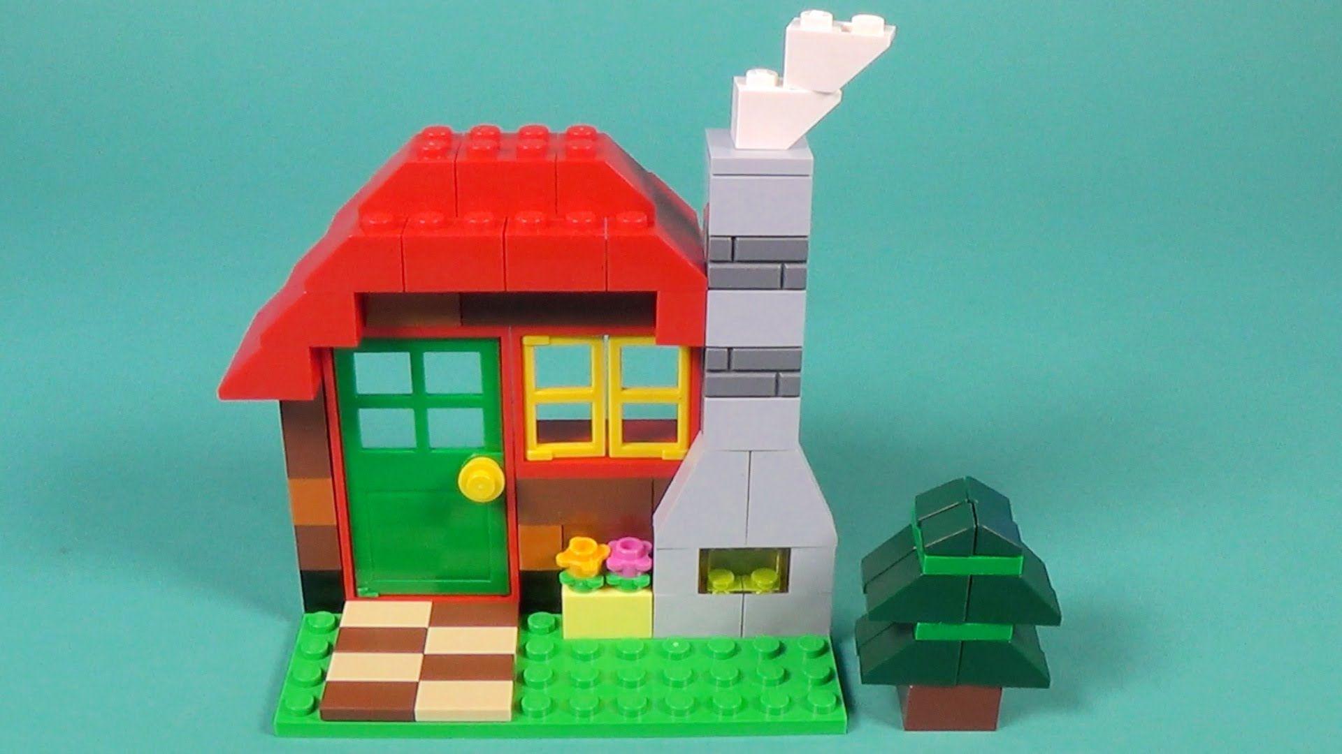 Lego Log Cabin Building Instructions Lego Classic 10695 How To Lego Classic Lego Craft Building Instructions