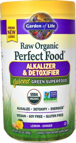 Garden Of Life Perfect Food Raw Organic Alkalizer Detoxifier