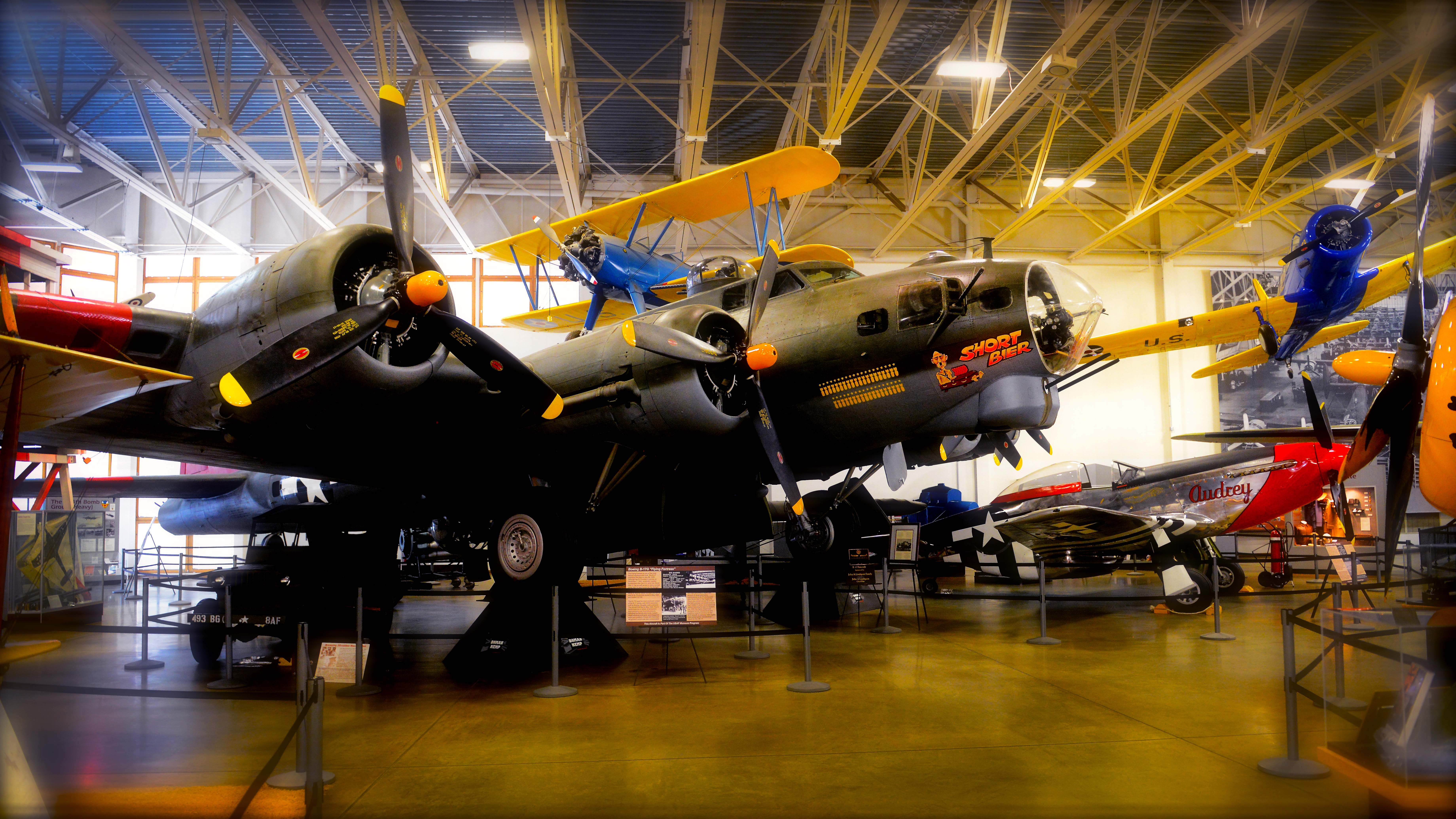 B17 at Hill Aerospace Museum. Just of I15 at exit 338