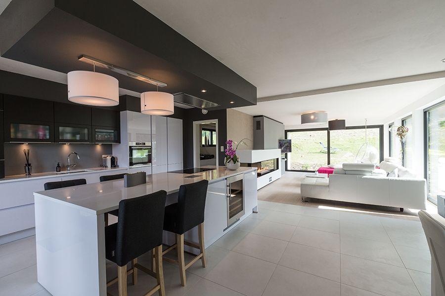 Décoration intérieur d\'une maison moderne - maison contemporaine T ...