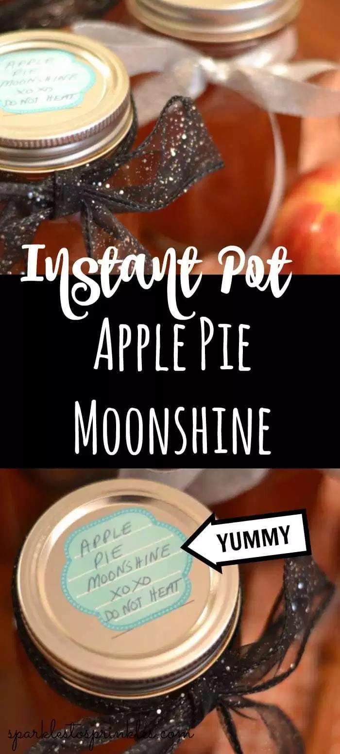 Instant Pot Apple Pie Moonshine Recipe Apple pie