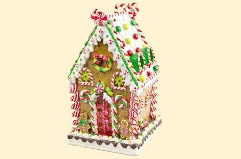 Gingerbread House With Led Lights At Cracker Barrel I Want This Sooo Bad Gingerbread Decorations Christmas Gingerbread House Gingerbread House