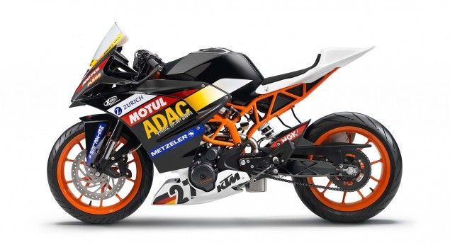 2014 Ktm Rc390 Cup A Glimpse Of What S To Come Ktm Racing