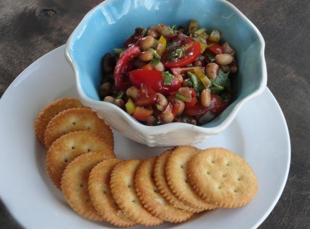 BLACK EYED PEAS DIP: Photo - 2 | Just A Pinch Recipes