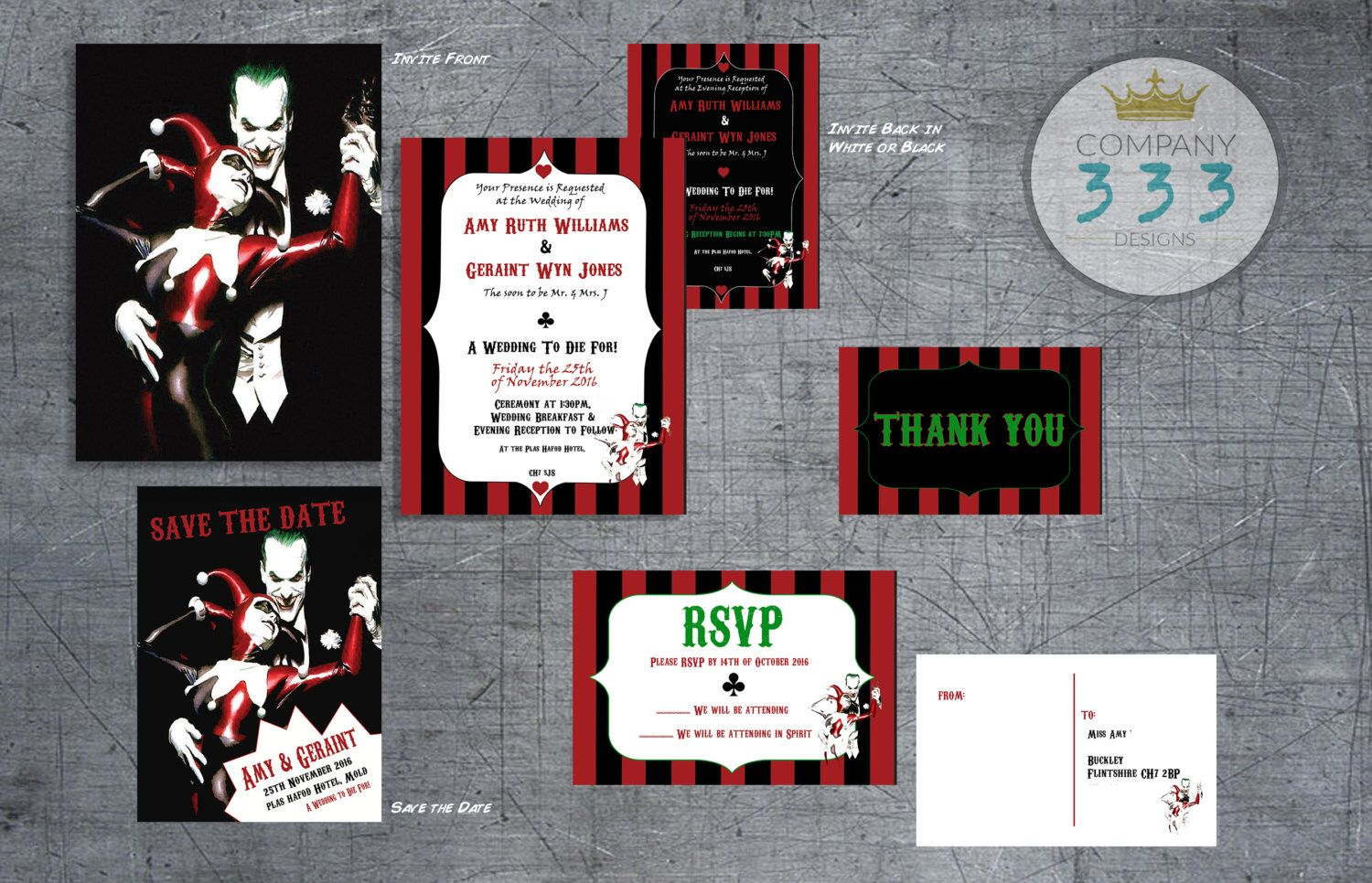 Superhero Wedding Suite  Superhero Wedding Printable DIY Set