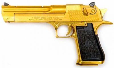 Resident Evil Apocalypse Desert Eagle Mk Xix With Gold Finish 44 Magnum Desert Eagle Hand Guns Guns Wallpaper