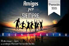 Tarjeta De Reencuentro De Promocion Movie Posters Amigos