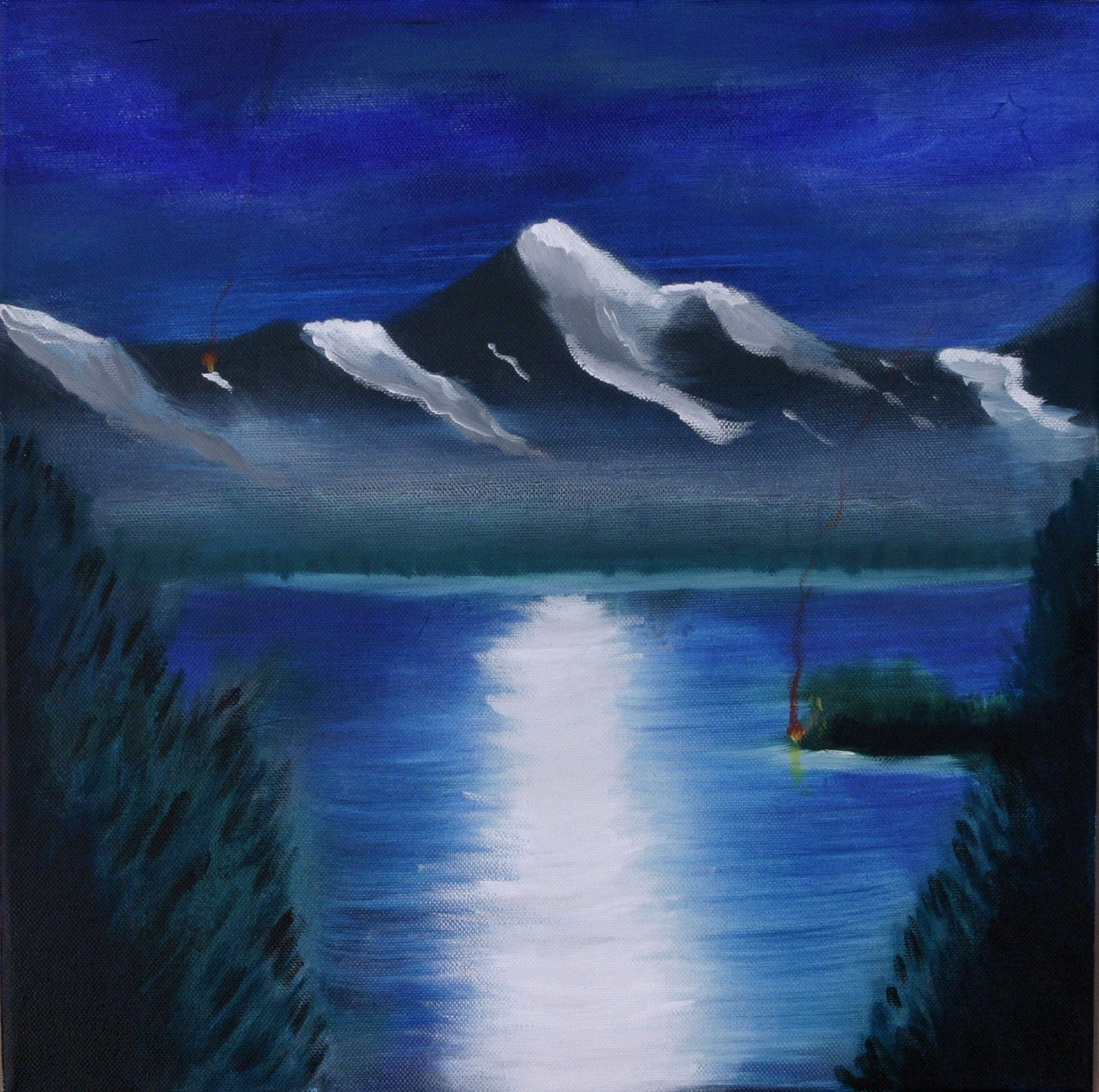 Image result for simple canvas paintings for beginners for Cool paintings easy