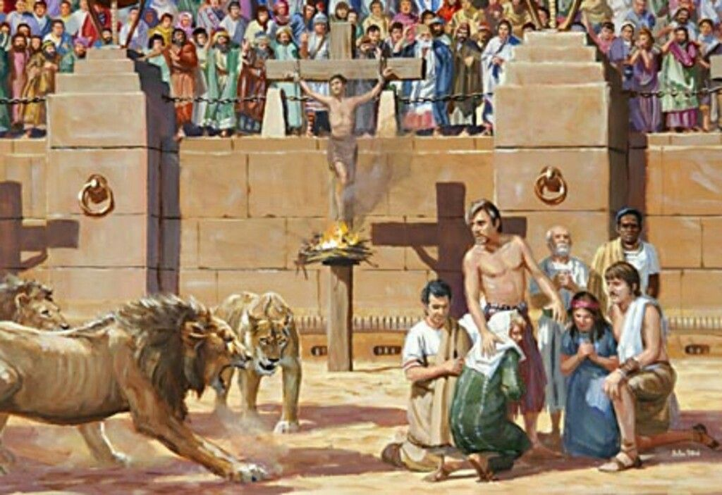 Christians were fed to lion and tigers as a result of their beliefs. | Persecuted christians, Christianity, Ancient rome