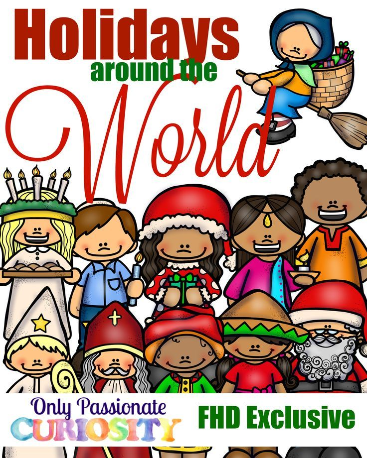 Free Holidays Around The World Pack Instant Download