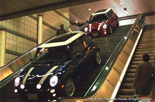 Fun Facts Two Electric Ed Mini Coopers And One Cooper S Had To Be Specially Built For The Film Since Gasoline Vehicles Are Not Allowed