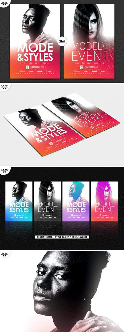 Download Fashion Event Flyer Template Free Download Fashion Event