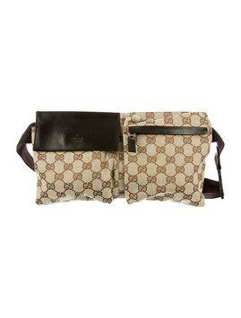 ec7734b6b149 Get the trendiest Cross Body Bag of the season! The Gucci Gg Waist Belt  Brown Cross Body Bag is a top 10 member favorite on Tradesy.