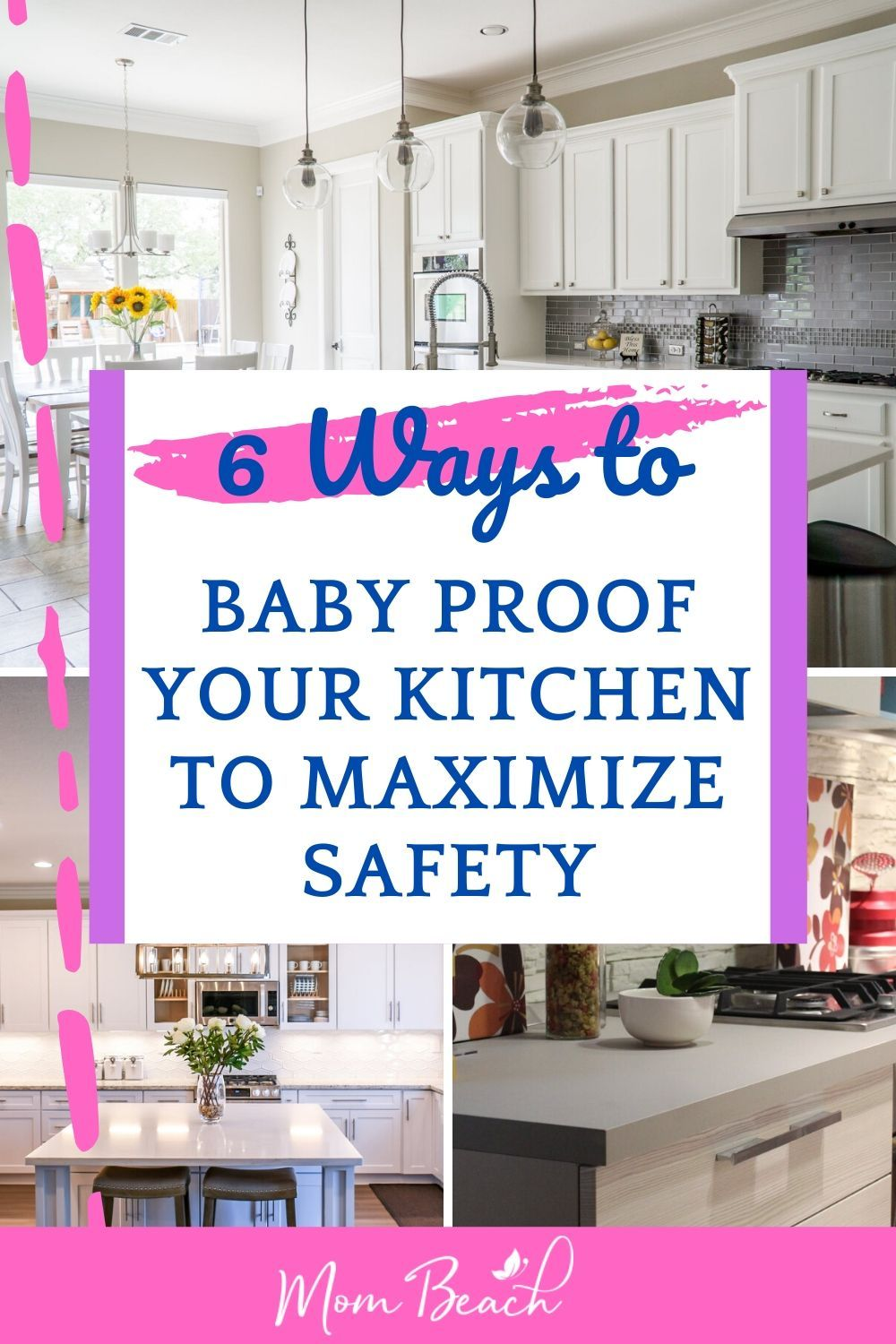 How To Baby Proof Your Kitchen To Maximize Safety In 2020 Baby Proofing Baby Proofing Kitchen Baby Proofing Hacks