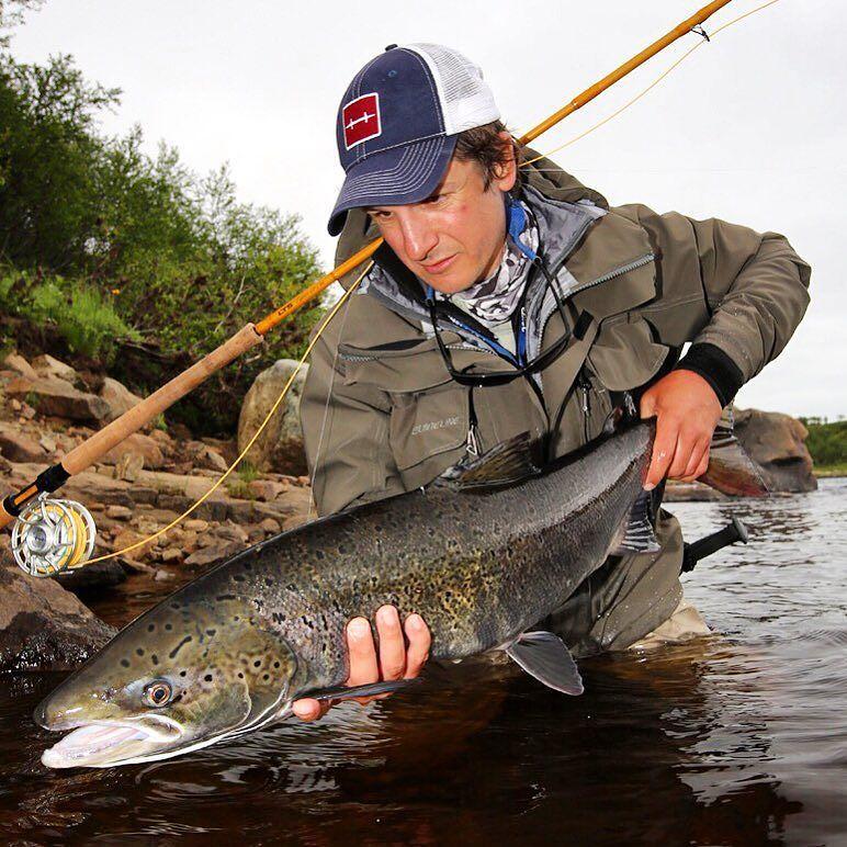 Autumn Salmon #yokanga @aosfishing #salmon #flyfishing #fliegenfischen #finatical #graz #hatchpro #steiermark #atlanticsalmon #kolapeninsula #fischer #fisherman #speycasting #aosbestpic #aosfishing