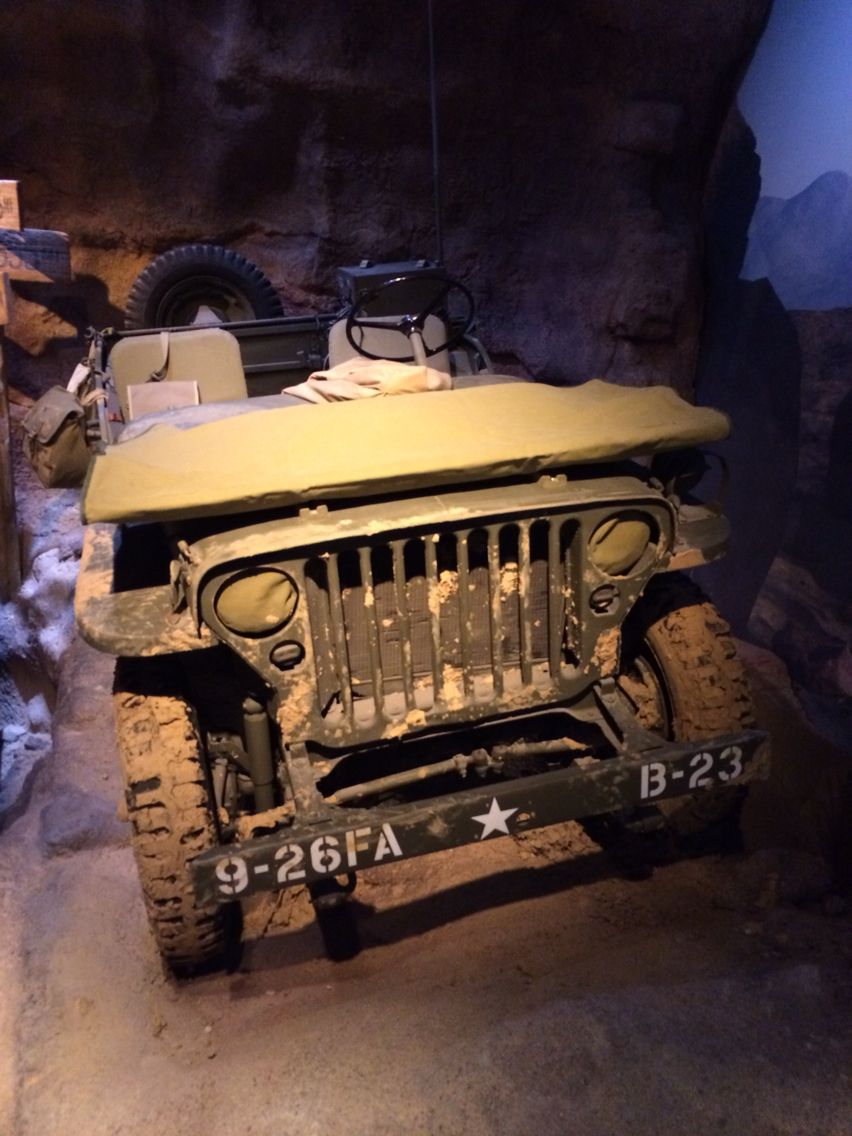 Pic Of A Jeep From The National Wwii Museum New Orleans Jeep Girl Willys