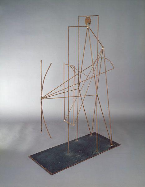 Picasso Wire Sculpture Metal And Wire Pinterest Escultura Arte Espanol Esculturas
