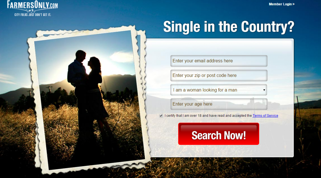 Dating for country folks