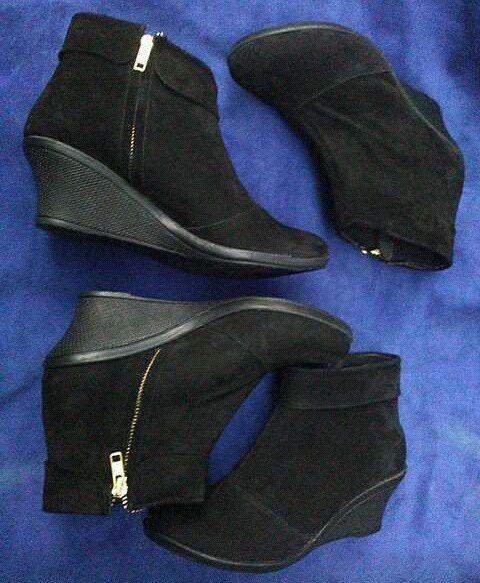 Sepatu Kulit Boots Wanita Couple Nabila By Smo Pre Order Couple