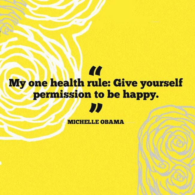 A great #health #quote from our First Lady! #michelleobama