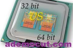 Bilgisayarımın Kaç Bit  olduğunu ( 32-64 )  nasıl anlarım – ademocut.com