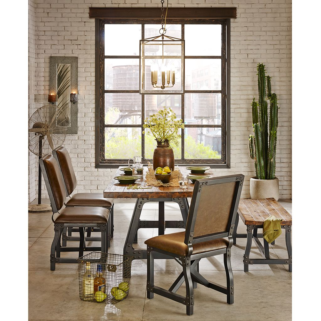 Lancaster dining table recalls another era with bases