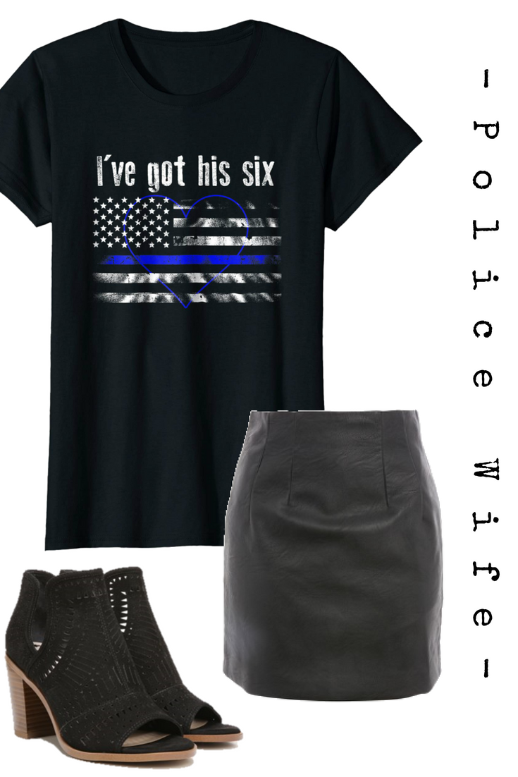 Are You Part Of The Blue Line Family Does Someone You Love Work In Law Enforcement As A Police Officer Police Wife Shirt Personalized T Shirts Order T Shirts