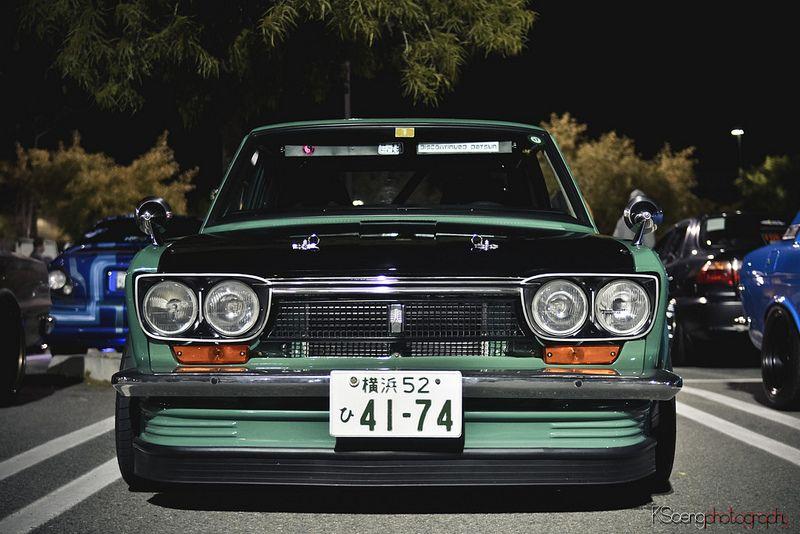 Green 510   datsun dreams   Datsun 510, Datsun 1600 ...