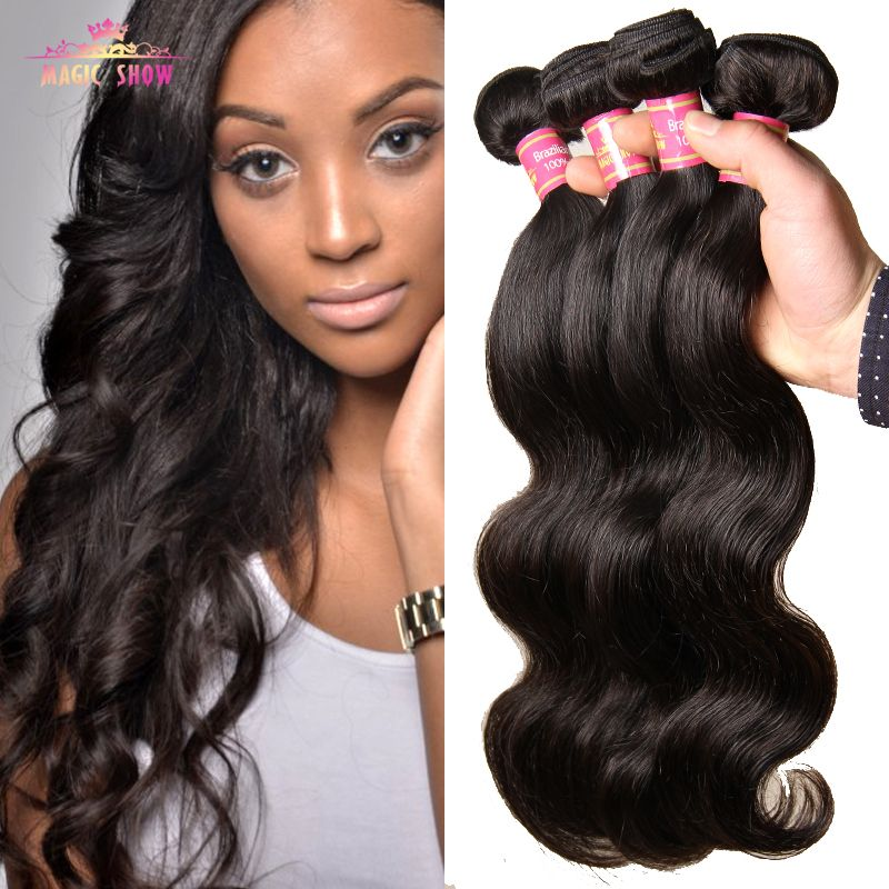 Brazilian Virgin Hair Body Wave 4 Bundles Grade 7A  Brazillian Human Hair Weave 100% Unprocessed Brazilian Body Wave Virgin Hair * Check this awesome product by going to the link at the image.