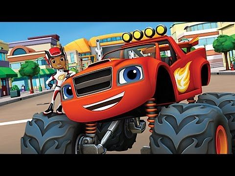 Blaze and the monster machines best episodes compilation for Blaze cartoni