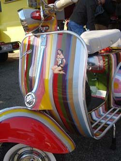 Vespa & colours