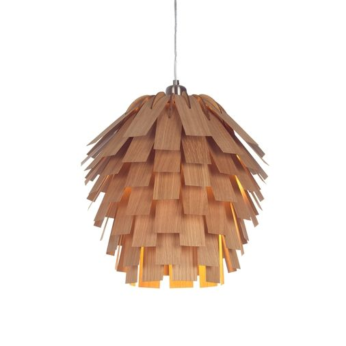 Scots Pendant Wooden Lampshade Ceiling Lights Pendants