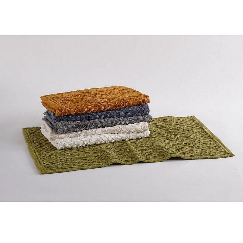Air-Weight Organic Cotton Bath Rug By Coyuchi®